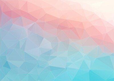 Papiers peints Fond plat coloré avec forme triangulaire