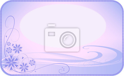 fond violet-rose avec des fleurs