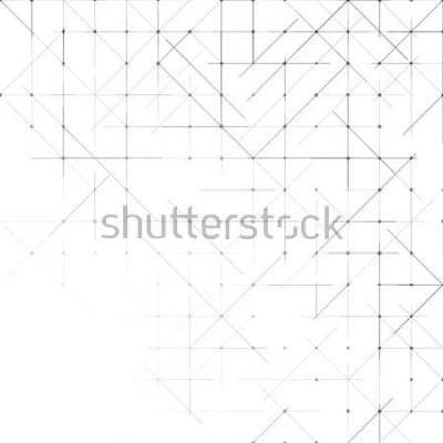 Papiers peints Fonds minimaliste géométrique simple. Motif pointillé de triangles. Illustration vectorielle