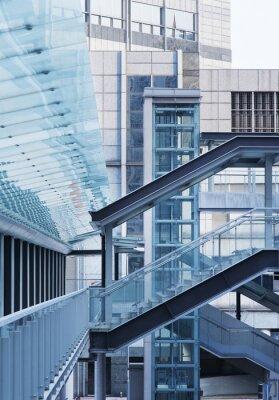 Papiers peints Foot Bridge et l'escalier