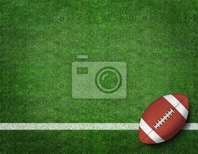 Papiers peints Football américain sur le terrain de football américain