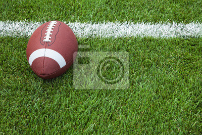Papiers peints football collégial à la ligne de but