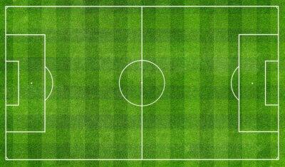 Papiers peints football  field top view