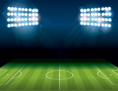 Papiers peints Football Football Football Americain Champ Illumination Illustration