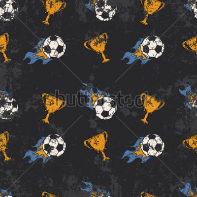 Papiers peints Football pattern