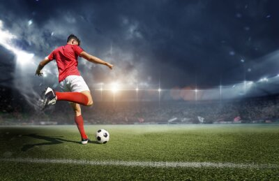 Papiers peints Football player in the stadium