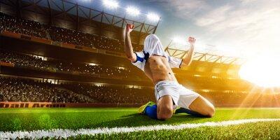 Papiers peints Footballeur en action