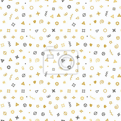 Papier Peint Forme Geometrique.Papiers Peints Forme Geometrique Modele Sans Soudure Modele En Or Pour La Mode
