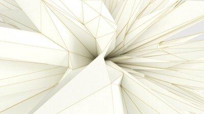 Papiers peints forme pointue