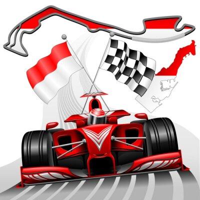 Papiers peints Formule 1 GP Monaco