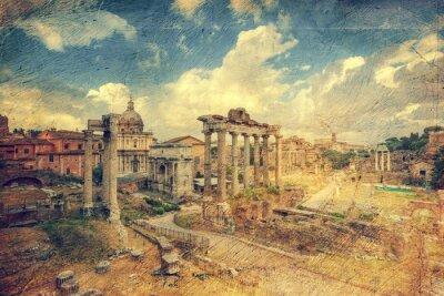Papiers peints Foro Romano. Rome. Italie.
