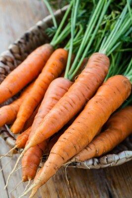 Papiers peints Frais, carottes, tas