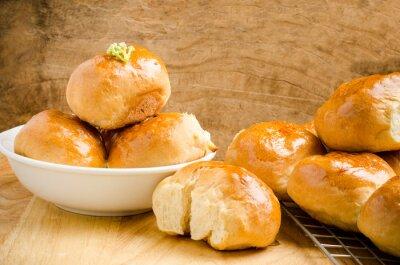 Papiers peints Frais, pain, bois, fond, maison, boulangerie