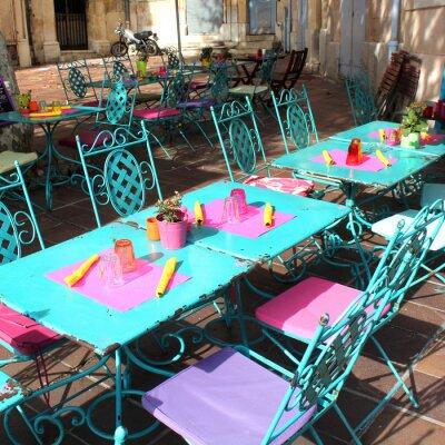 Papiers peints France - Terrasse (Provence)