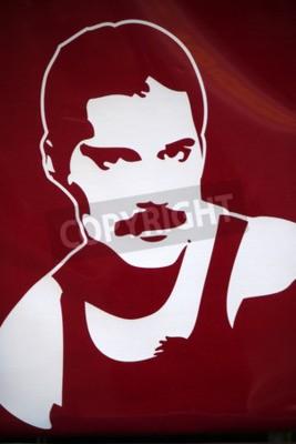 Papiers peints Freddy Mercury, Berlin.