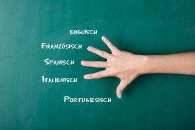 Papiers peints Fremdsprachen