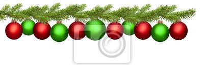 frontière de Noël