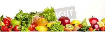 Papiers peints Frontières fruits et légumes
