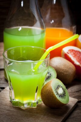 Fruit and juice.