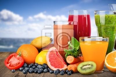 Fruit, boisson, raisin.