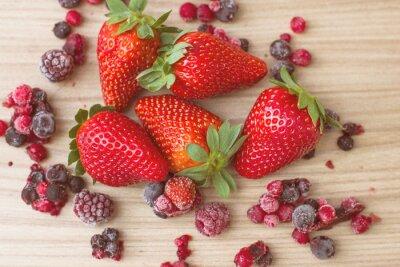 Papiers peints Fruits rouges sains