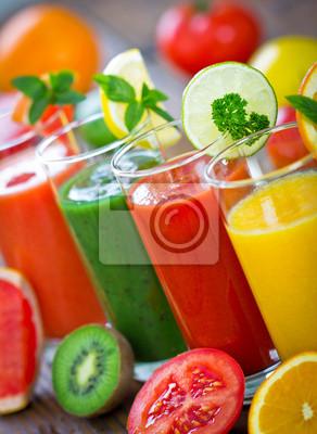 Fruits sains et de légumes Smoothie