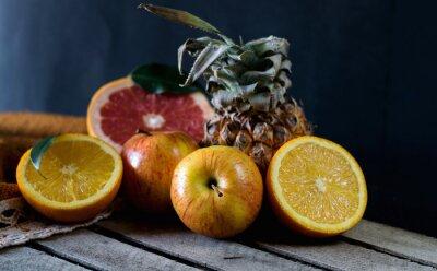 Papiers peints Fruits sur la table