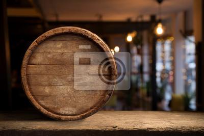 fûts de bureau en bois et espace pour votre décoration