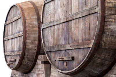 Papiers peints Fûts de chêne dans une cave, brasserie ou distillerie