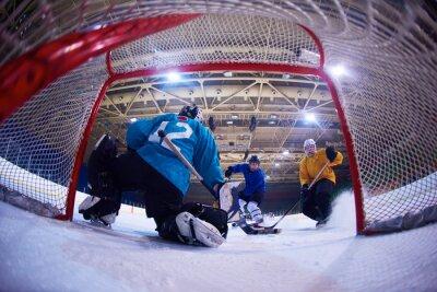 Papiers peints gardien de hockey sur glace