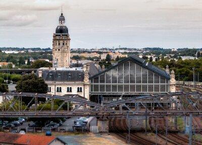 Papiers peints Gare de La Rochelle