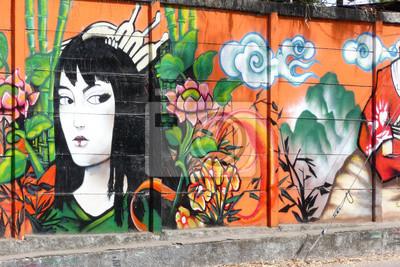 Papiers peints geisha_1