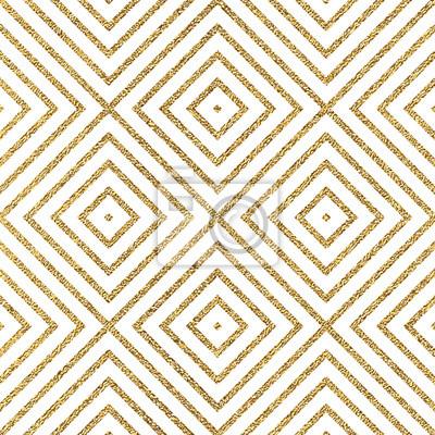 Geometrique Or Brillant Seamless Modele Diagonal Lignes