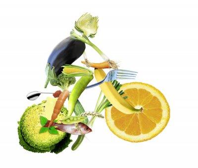 Papiers peints Gesunde ernährung und sport