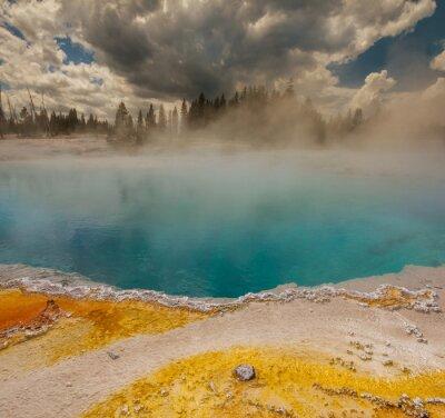 Papiers peints Geyser dans Yellowstone