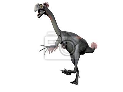 Gigantoraptor Dinosaure 3d Papier Peint Papiers Peints Enorme
