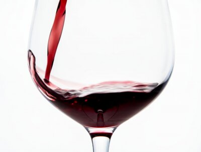 Papiers peints Glass of red wine