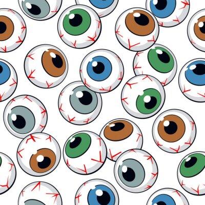 Papiers peints Globes oculaires sans soudure de fond