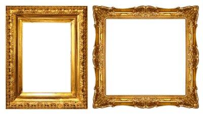 Papiers peints gold picture frame
