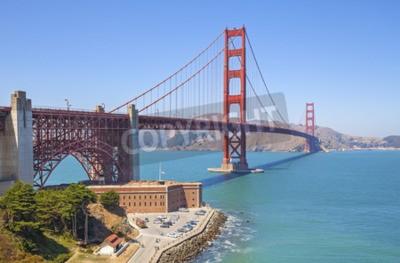 Papiers peints Golden Gate Bridge à San Francisco, États-Unis.