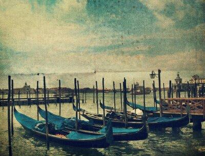 Papiers peints Gondola. Venise