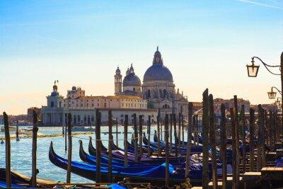 Papiers peints Gondoles, Venise