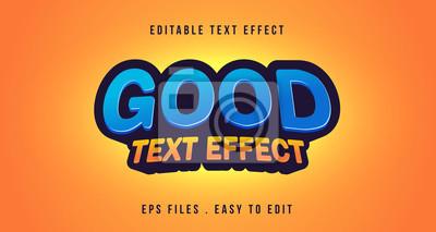 Papiers peints Good 3D text effect, editbale text
