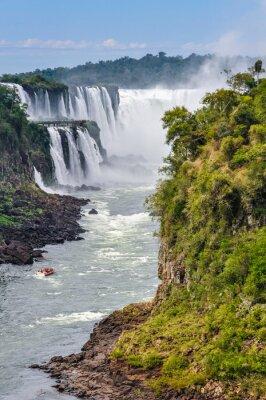 Papiers peints Gorge du Diable, Chutes d'Iguazu, en Argentine