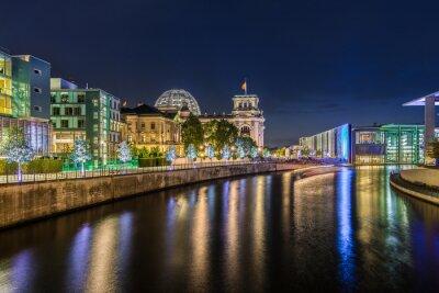 Papiers peints Gouvernement du quartier berlinois de nuit