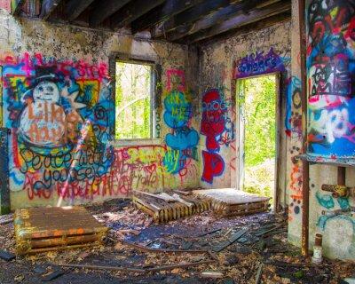 Papiers peints Graffit abandonné