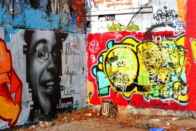 Papiers peints graffiti: Contexte