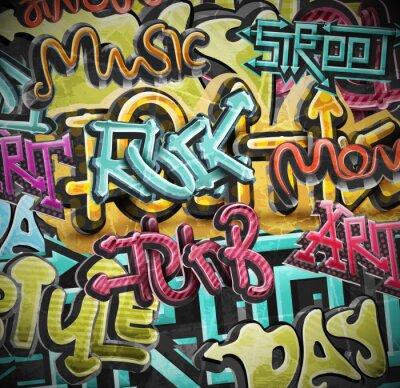 Papiers peints Graffiti grunge