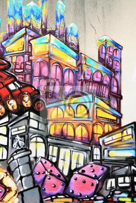Papiers peints Graffiti - Street art