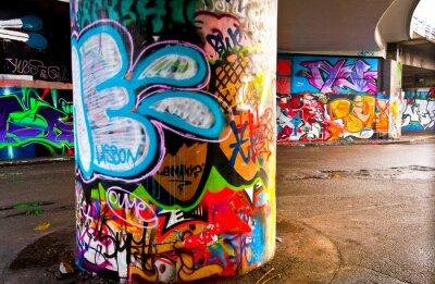 Papiers peints Graffitti mur
